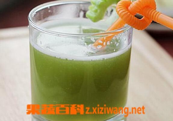 果蔬百科蜂蜜苦瓜汁